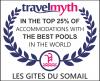 Diplôme international des 25% des meilleures piscines au monde